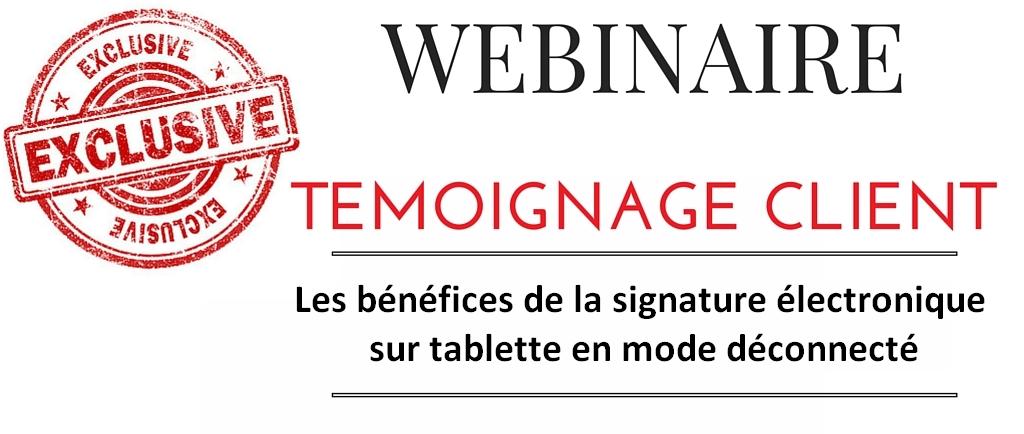 Signature tablette : Bioderma fait signer ses contrats pharmacie sous forme numérique