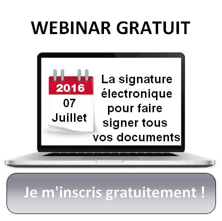 Signature électronique DIP franchise loi Doubin