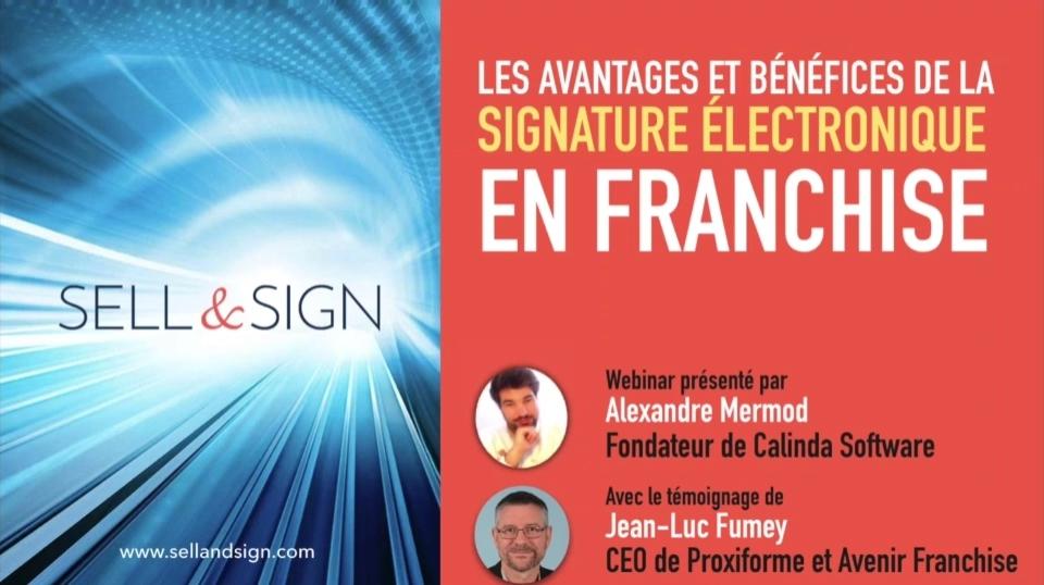 Signature numérique franchise DIP loi Doubin