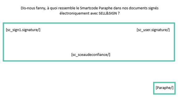 Exemple de paraphe et sa valeur juridique dans un contrat