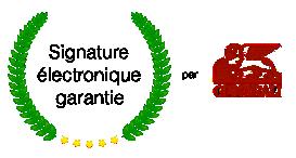 signature électronique garantie