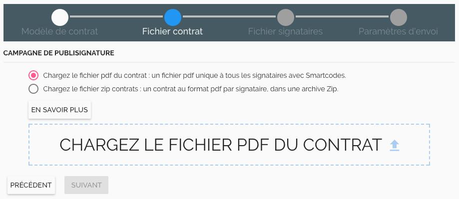 campagne publi signature électronique envoi groupé