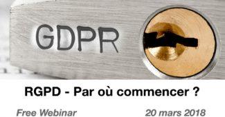 RGPD - Par où commencer ?