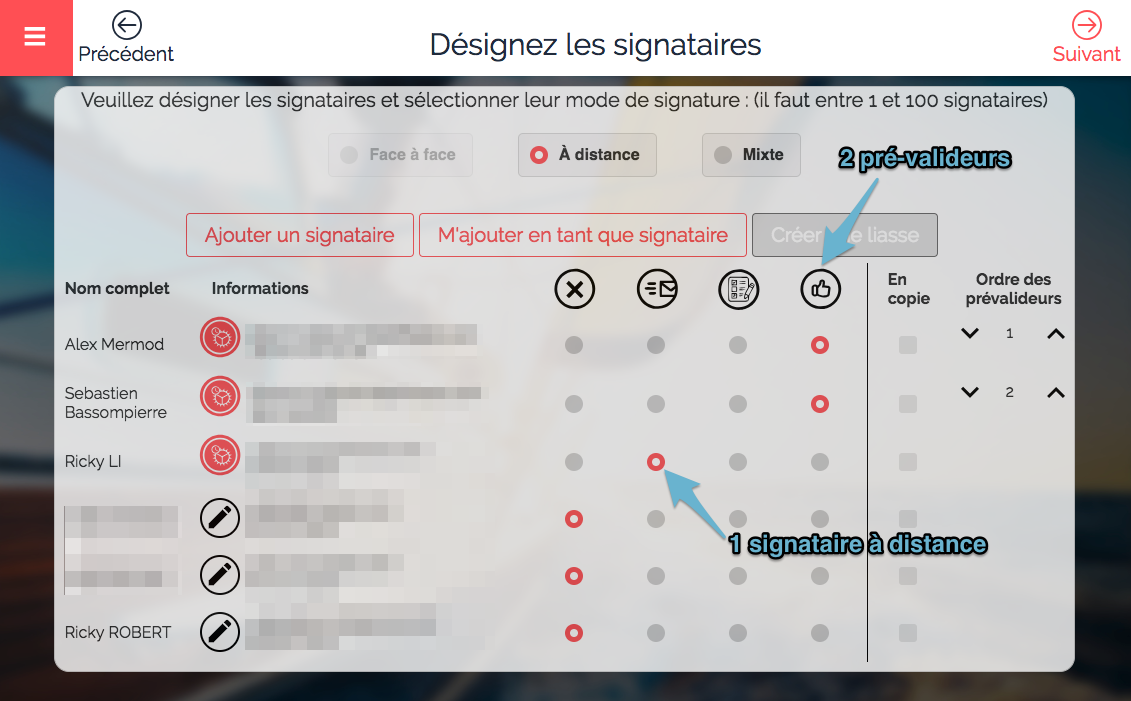 workflow validation signature électronique