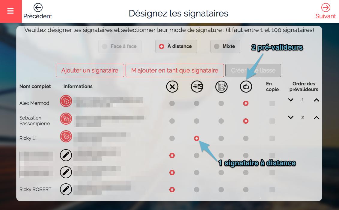 workflow validation signature électronique