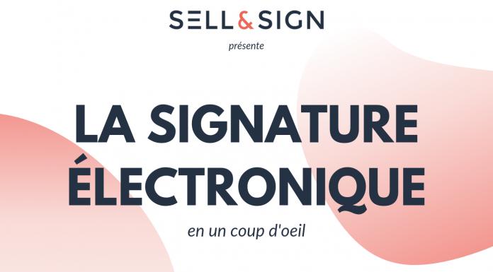 infographie la signature électronique